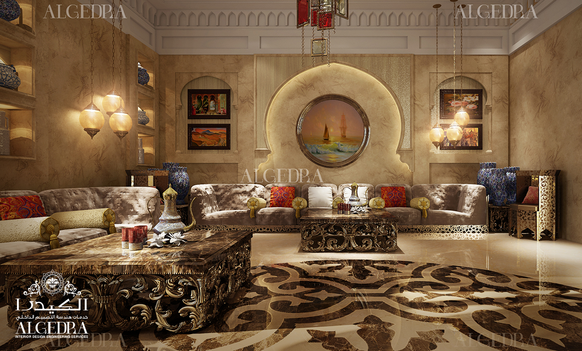 traditional & ceiling decor for Majlis