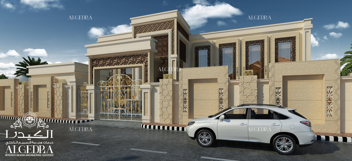 Excerpts from modern exterior designs for your own villa for Design your own exterior house