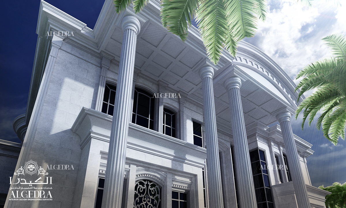 modern exterior design for Palace