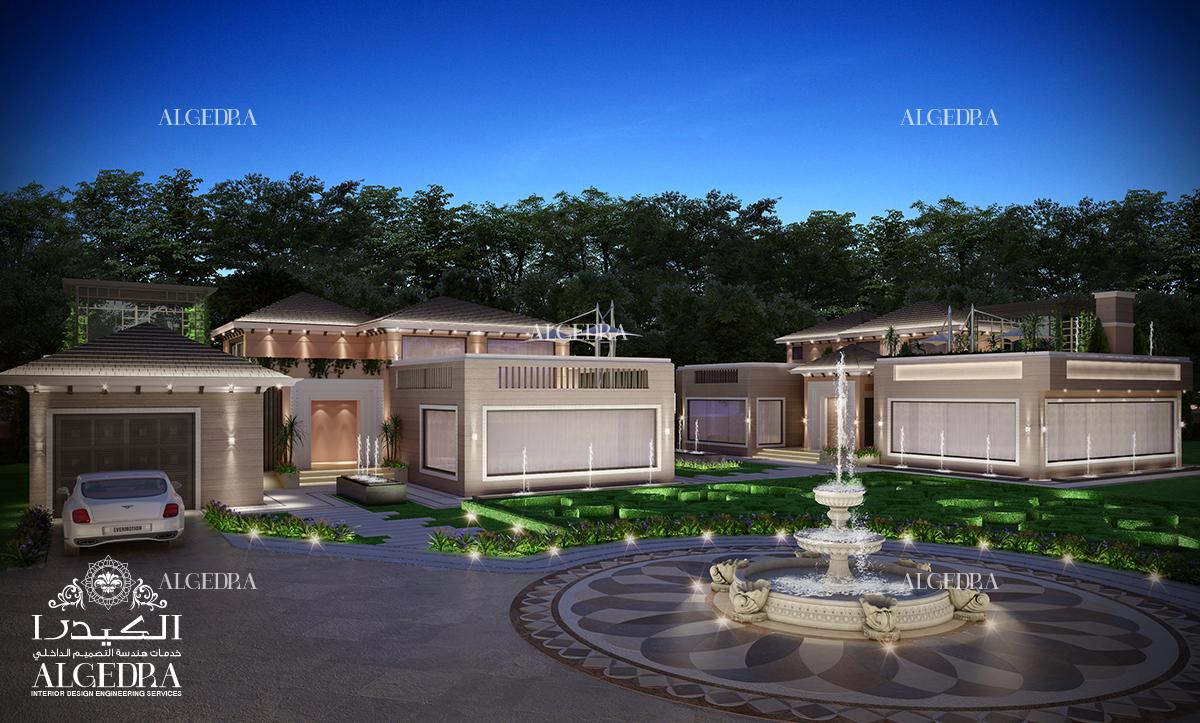 garden landscape design for Villa