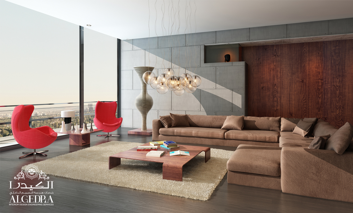 modern and the traditional Penthouse Design