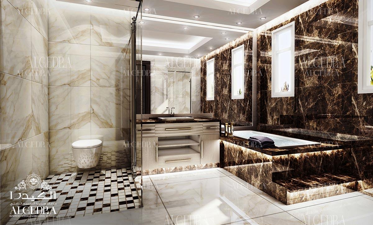 تصميم الحمام الفاخرة
