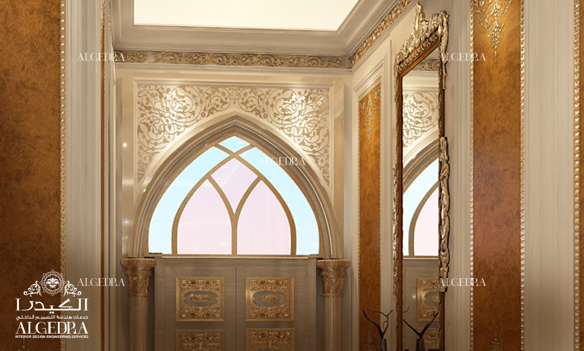 Walls Finishing & Art Nouveau Style