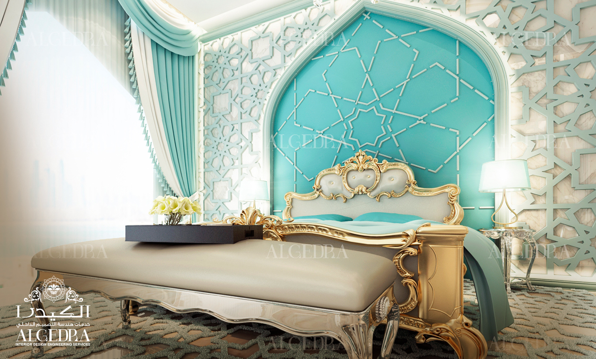 luxurious Royal Style Bedroom