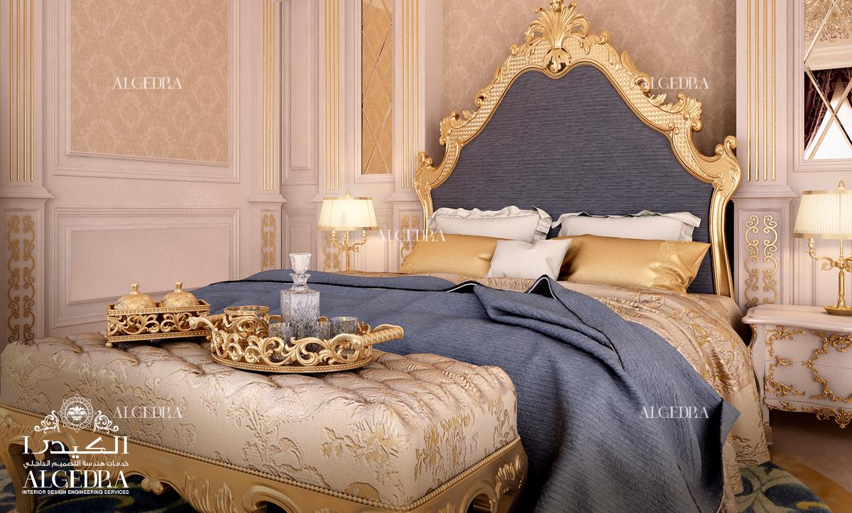 تصميم غرفة نوم رويال ستايل