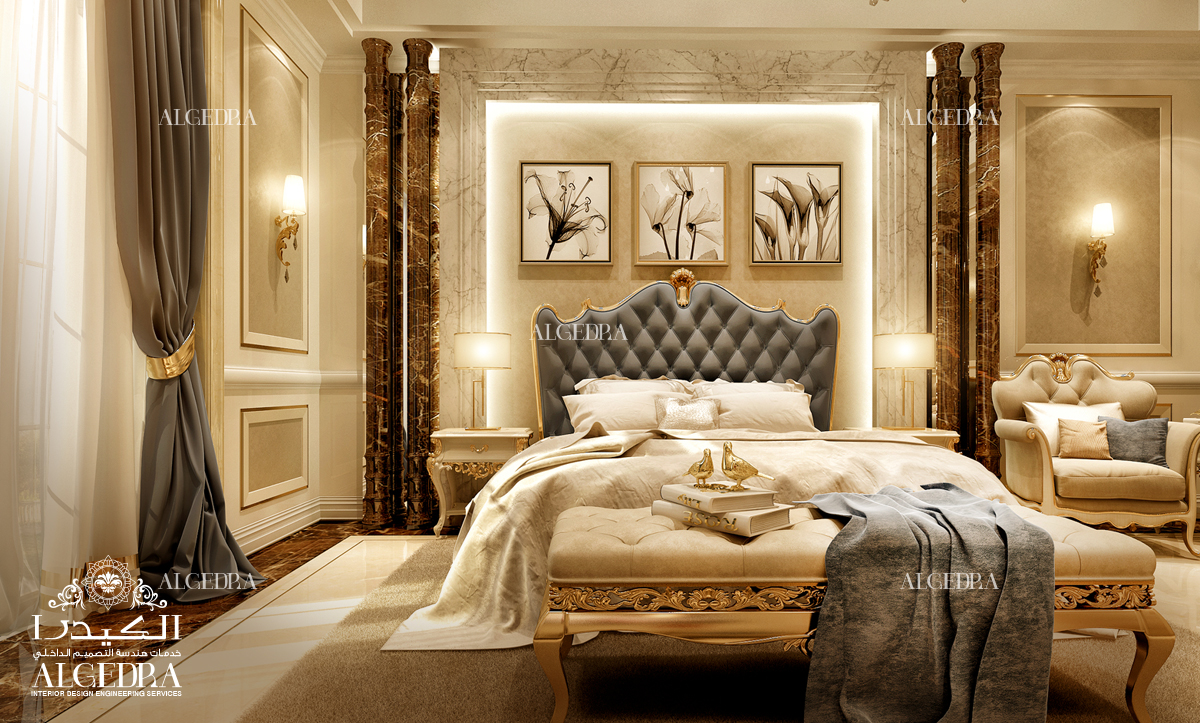 royal heritage bedroom design