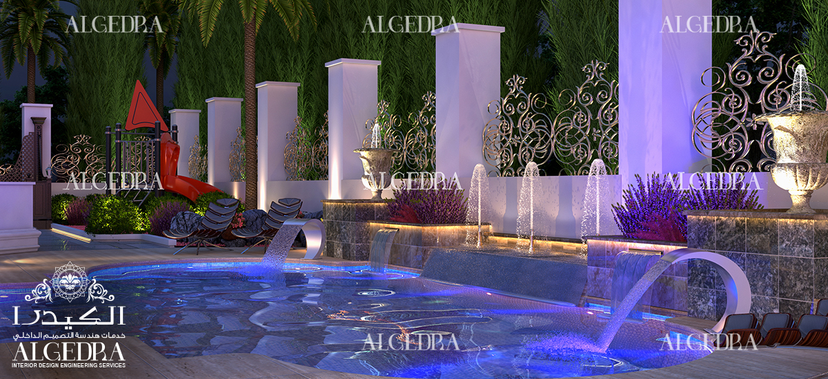 Modern Pool Designs Dubai