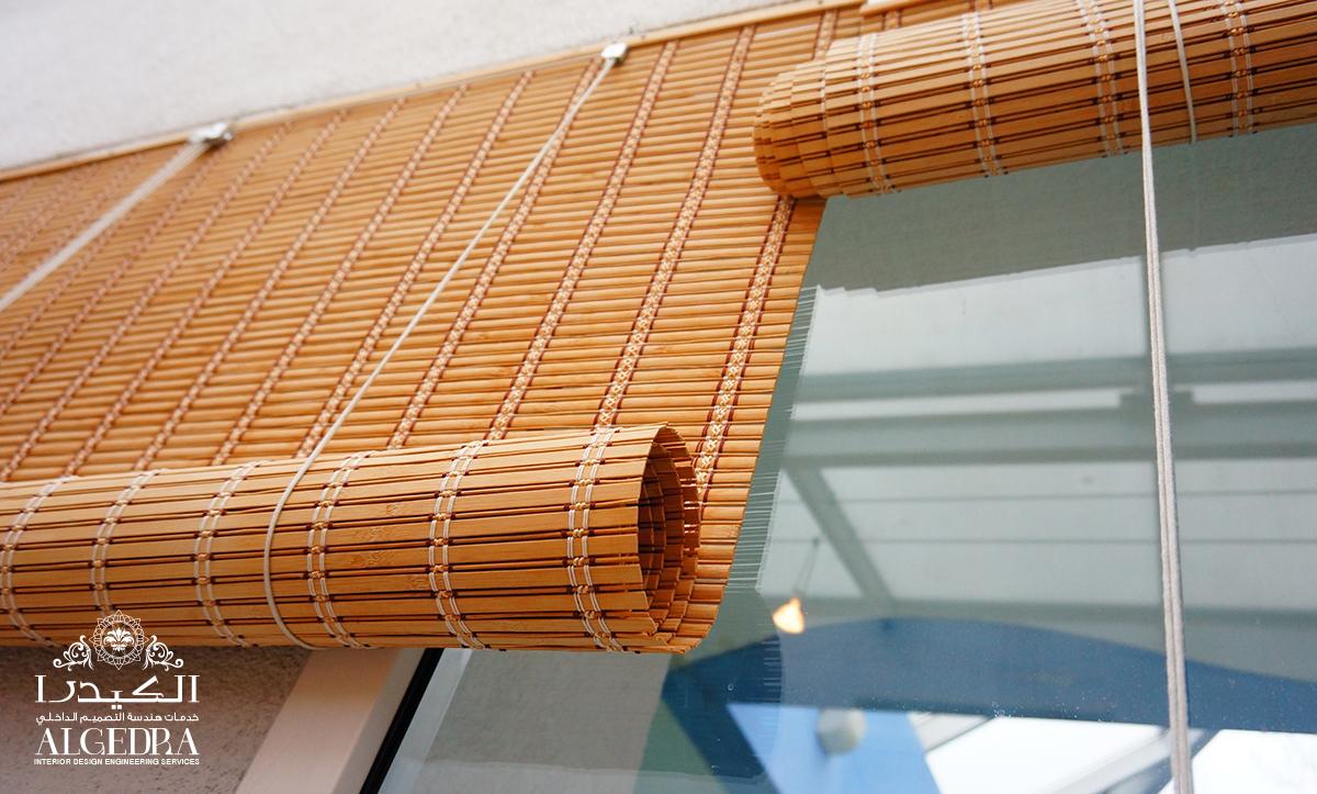 Distinctive wood curtains