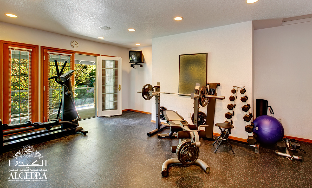 Useful ideas for home gym interior design for Home gym interior design