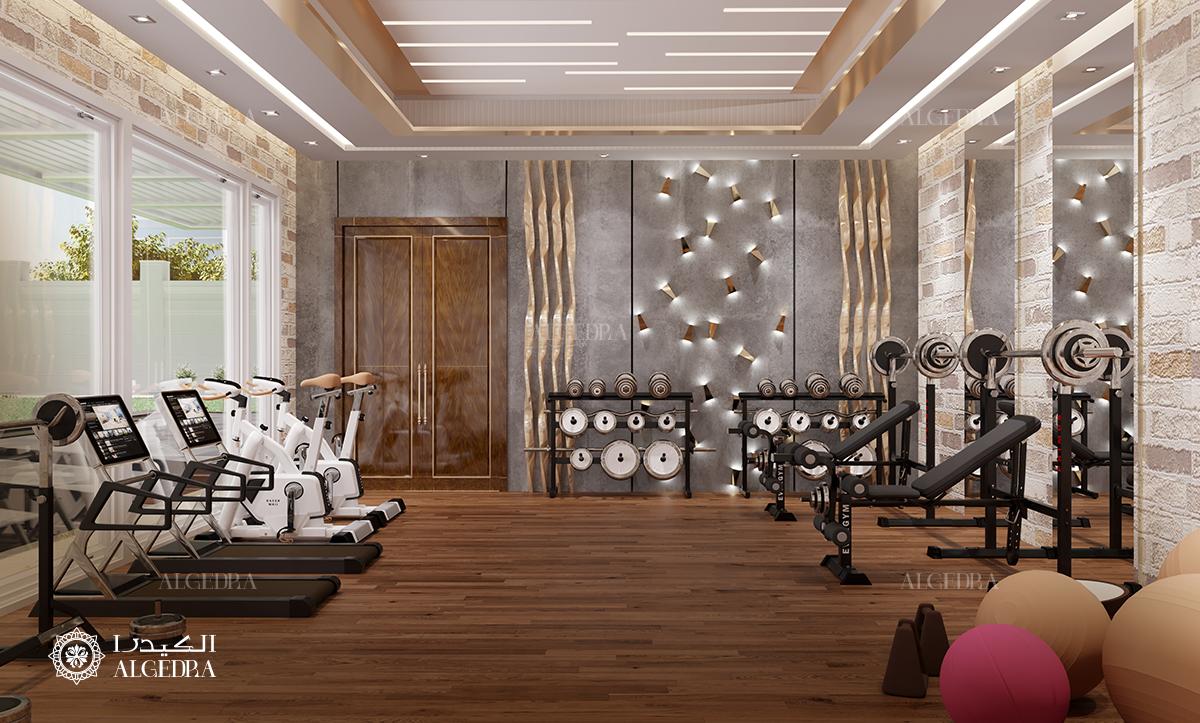 algedra interior design rest of image 1 25 - 36+ Small Home Gym Interior Design Background