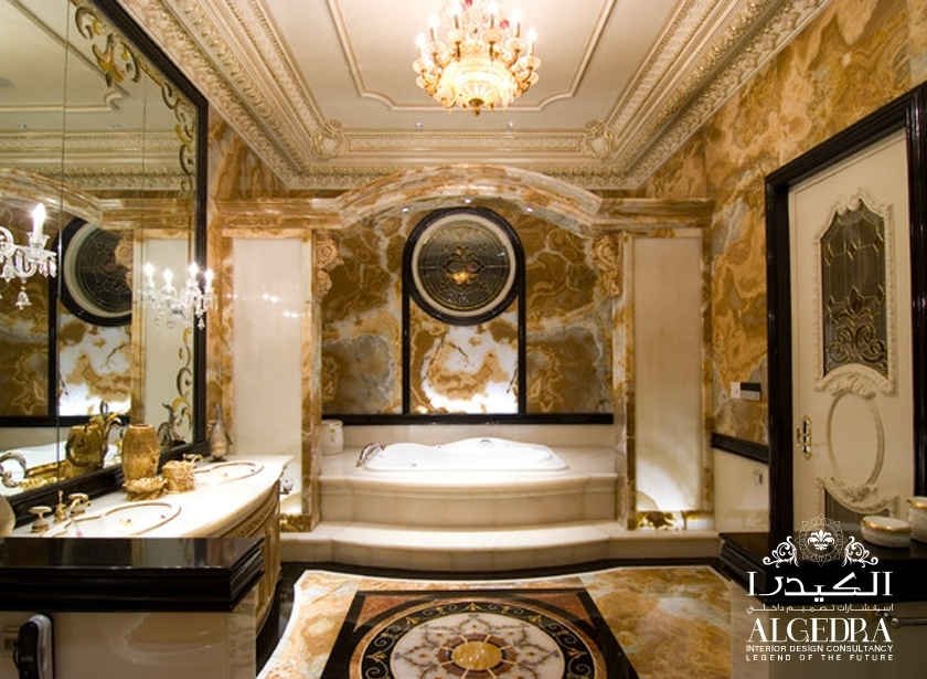 Bathroom Design. Interior Design In Antique ...