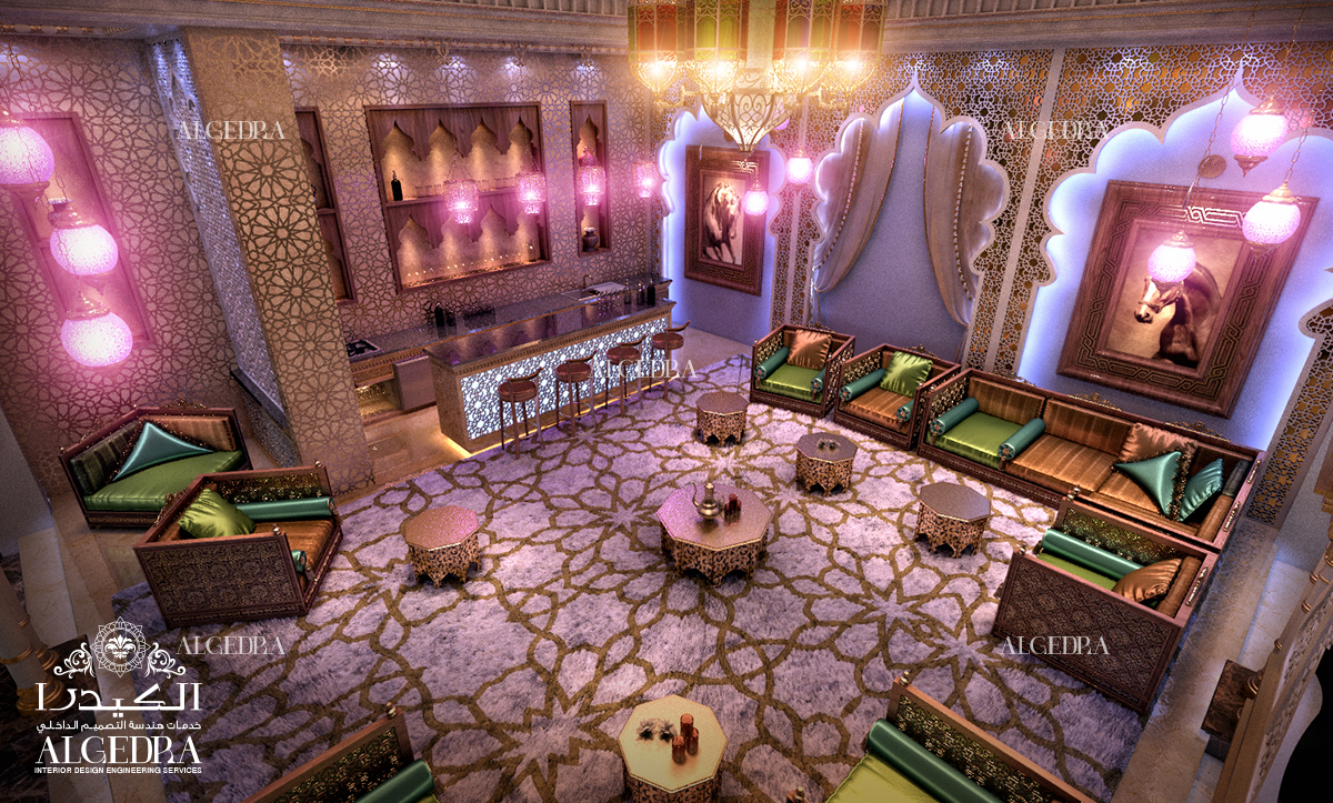 Glamourous Arabian Style in Interior Design