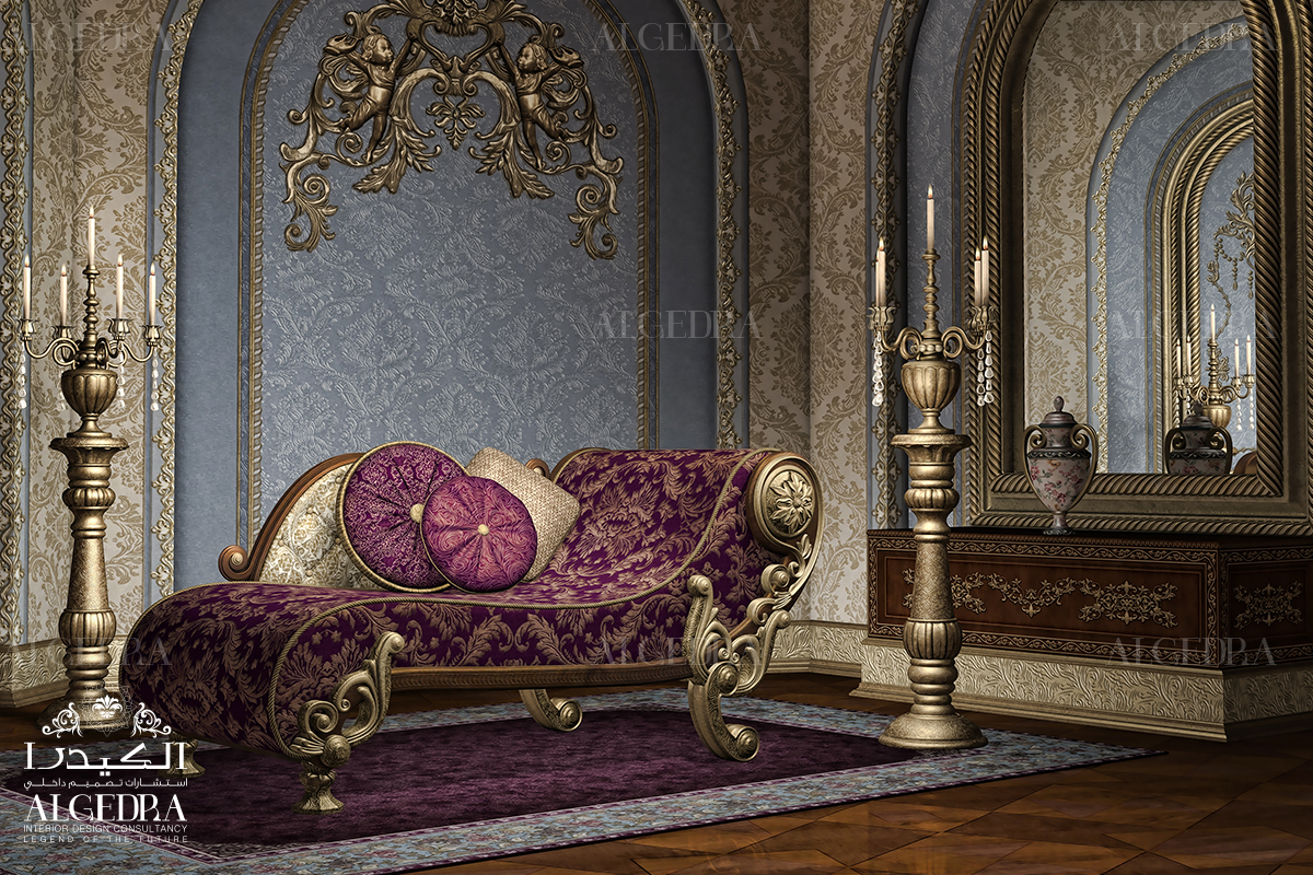 Modern baroque interior design french baroque interior for Modern style decor