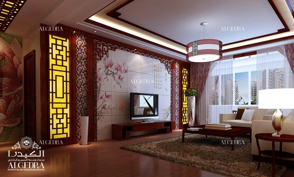 Brilliant Tips For Chinese Style Interior Design on small living room design