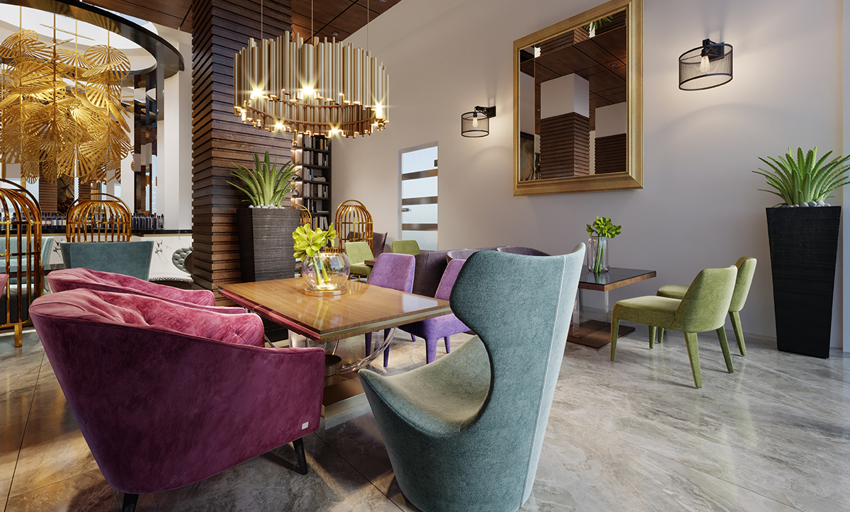 How Coffee Blended Into Interior Design