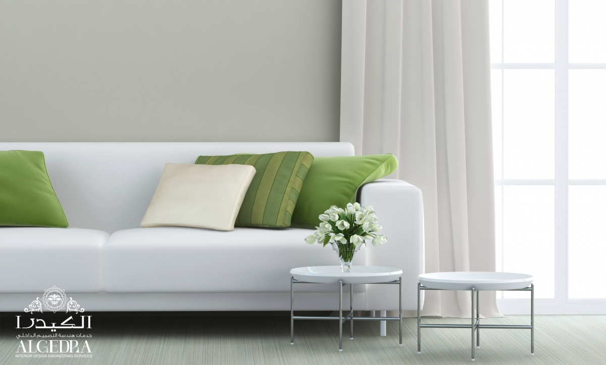white sofa design