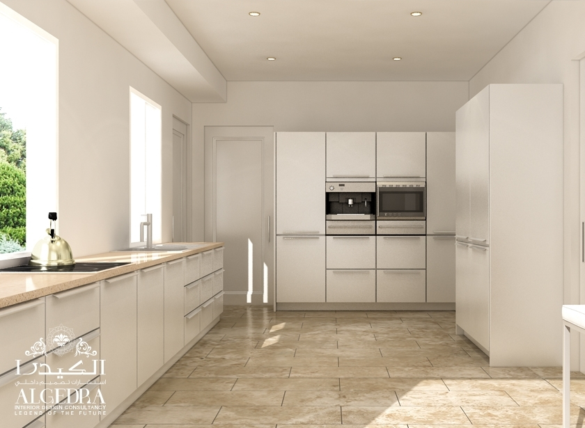 neutral color kitchen