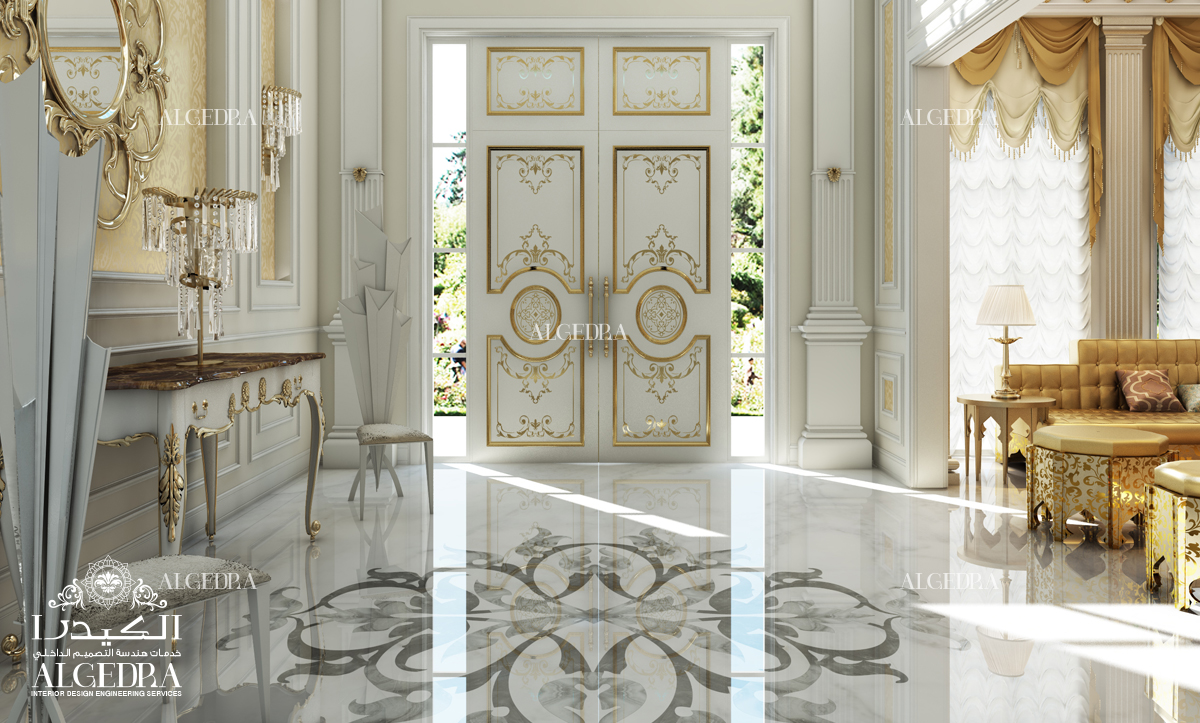 Tips to decorate your villa entrance luxuriously for Decoration villa