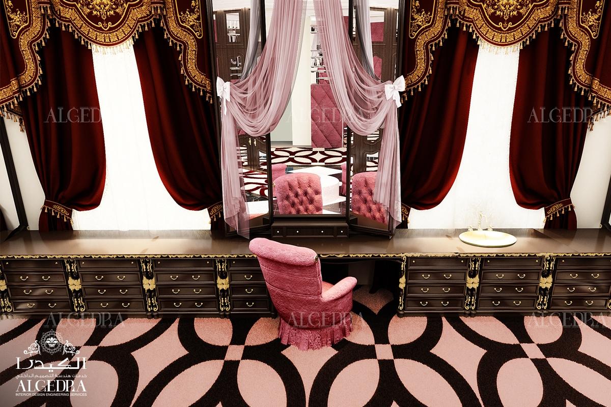 interior dressing room