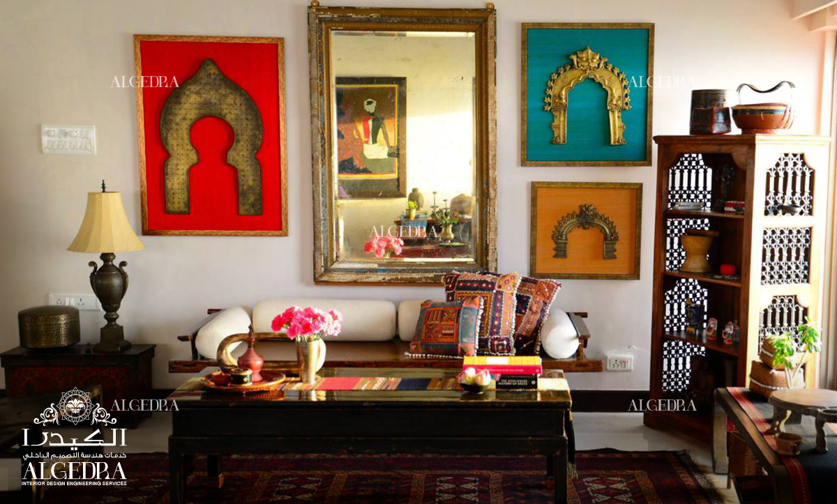 Wonderful Traditional Indian Living Room Design