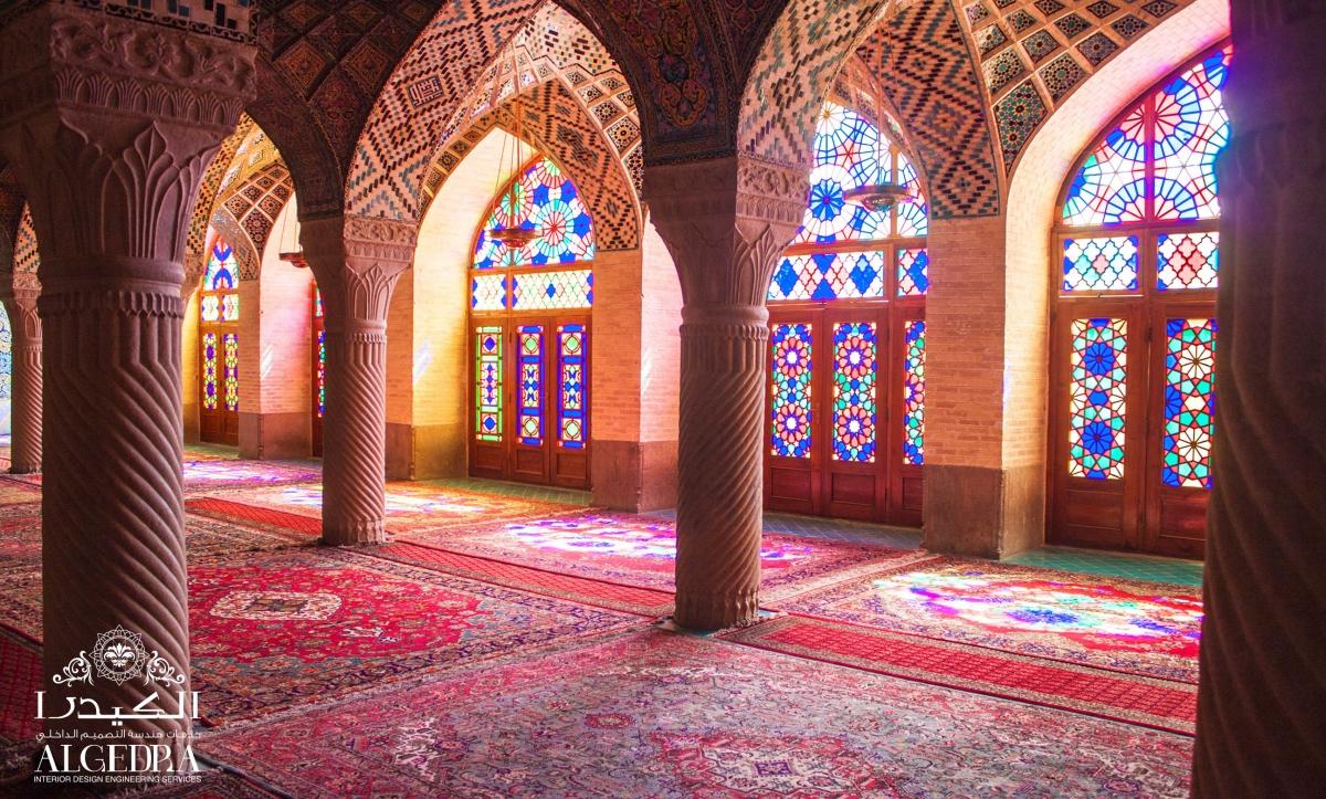 Ottoman Style mosque interiors
