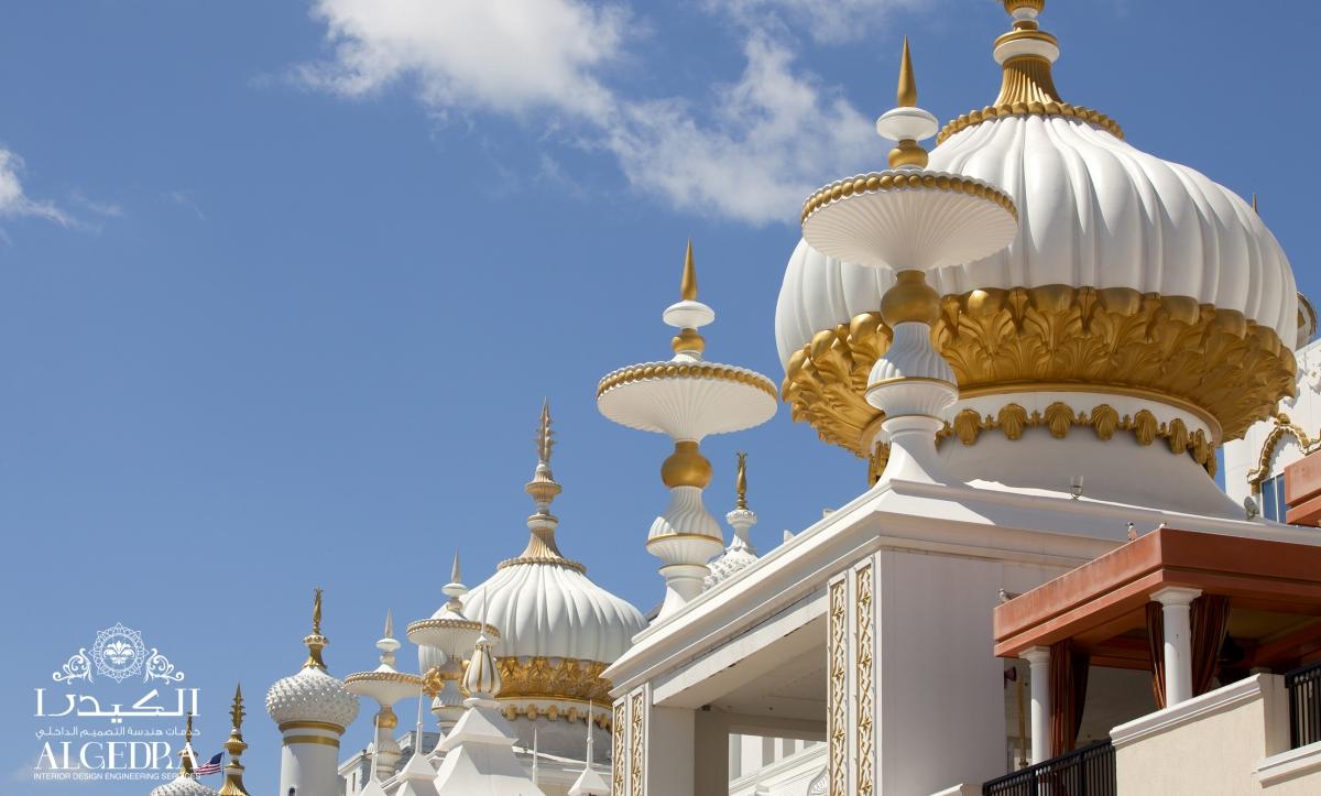 Mosque dome exterior