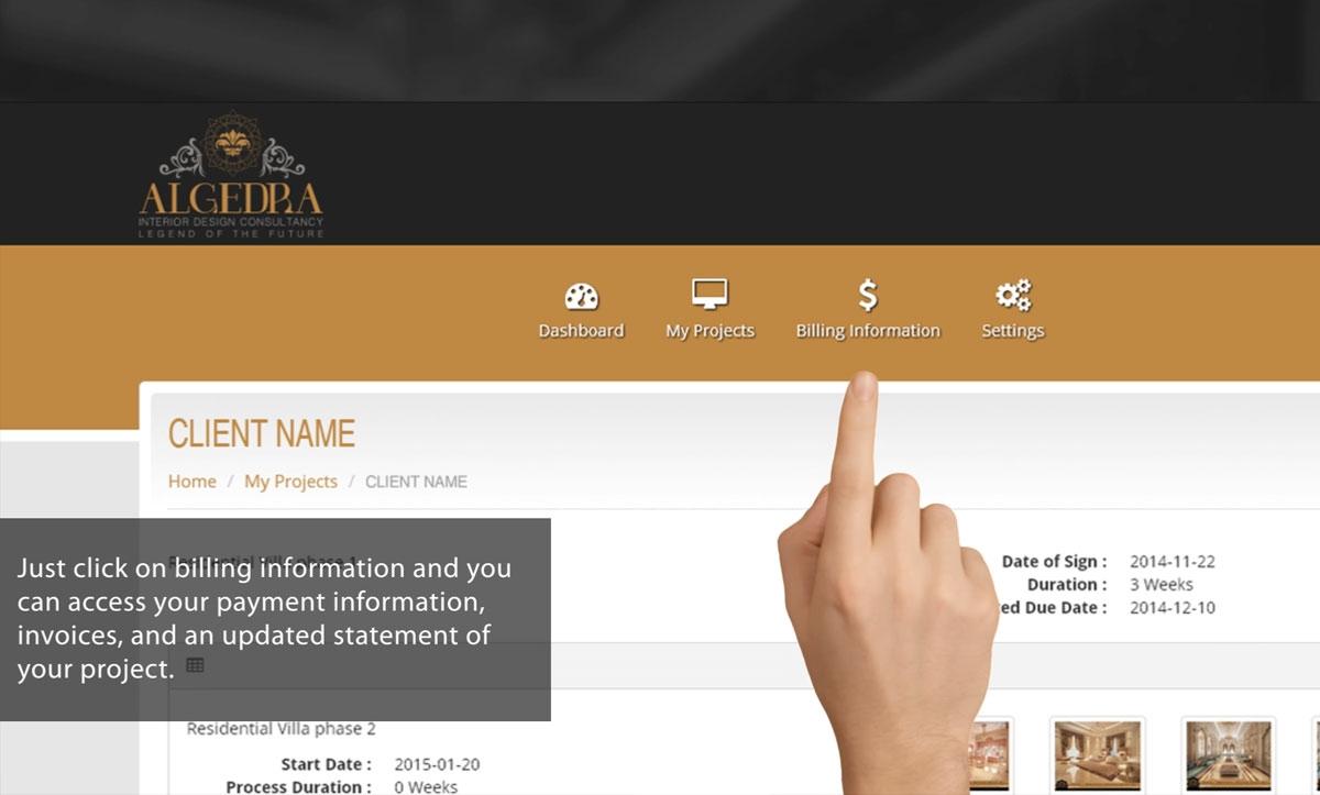 MyALGEDRA Online Portal
