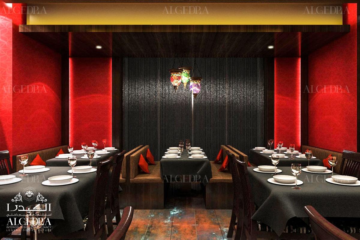A memorable interior design for restaurants