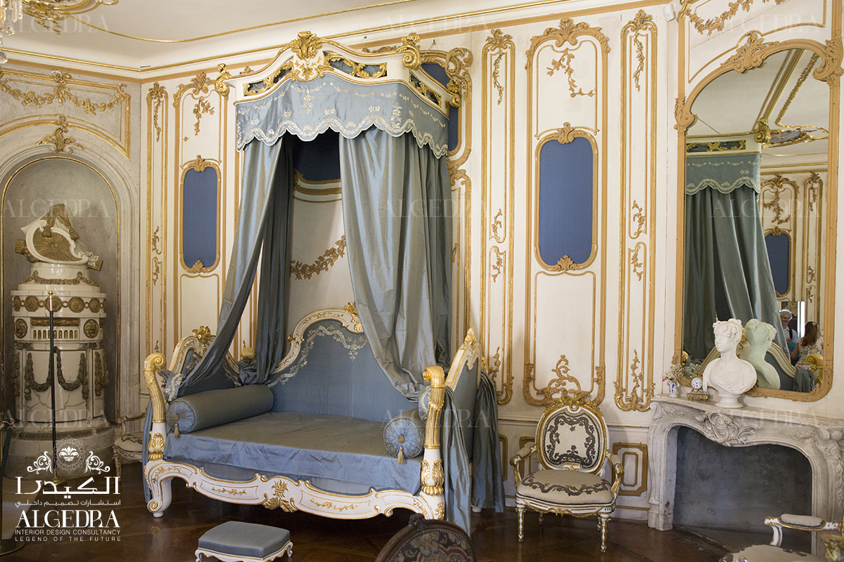 Luxurious Bedrooms Rococo Style Interior Design Algedra Interior Design
