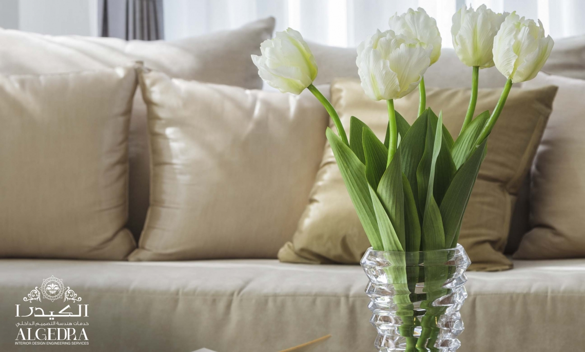 Flowers in the Living Room
