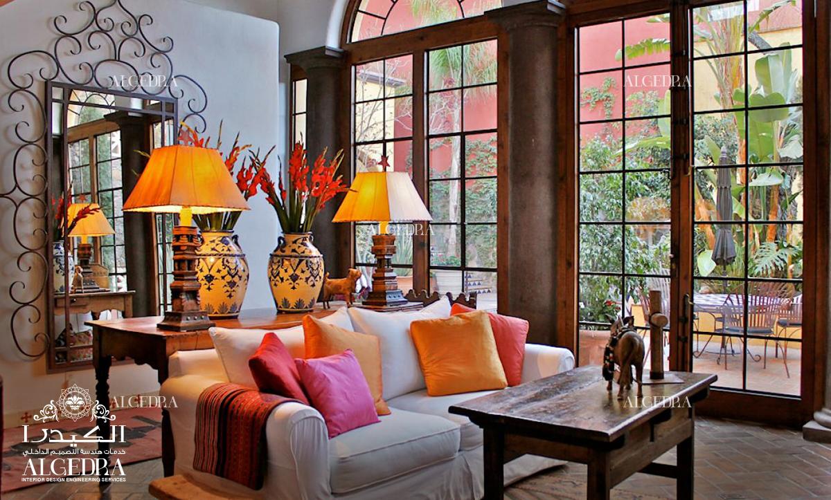 A Glimpse Of Spanish Style Interior Design