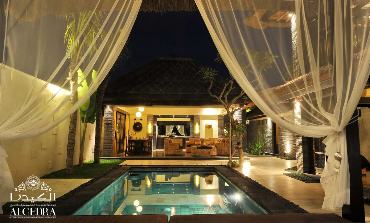 Oriental Swimming Pool Design
