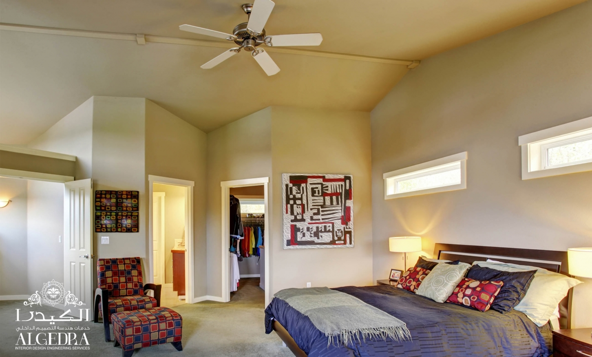Colorful Master Bedroom