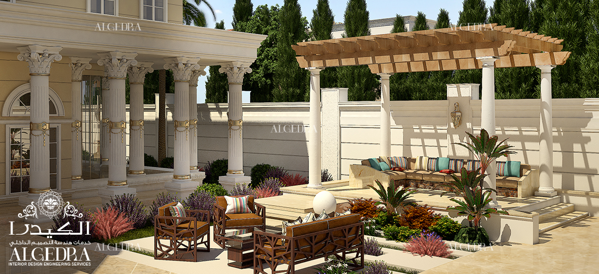 Top ideas for designing your landscape by algedra for Villa landscape design
