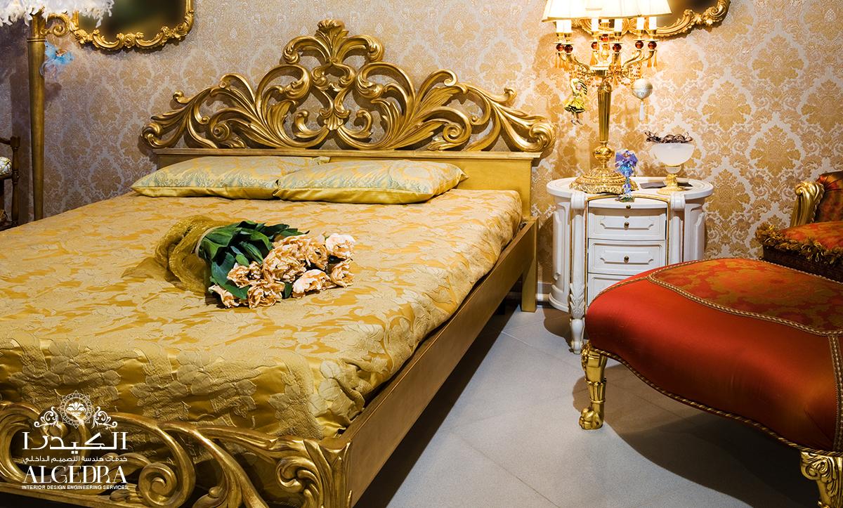 Victorian style bedroom design