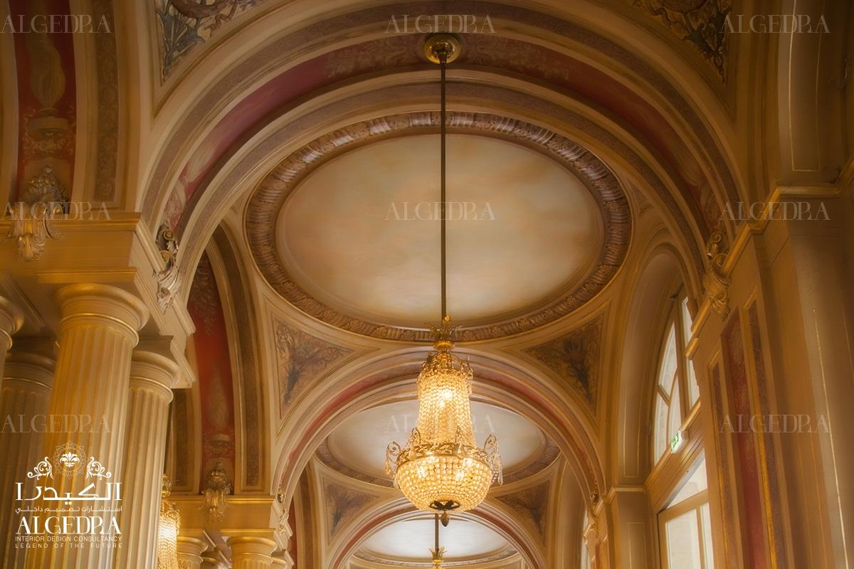 Victorian entrance chandelier