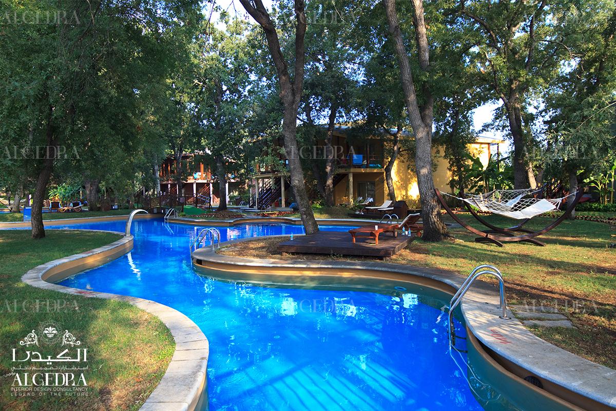 family swimming pool design