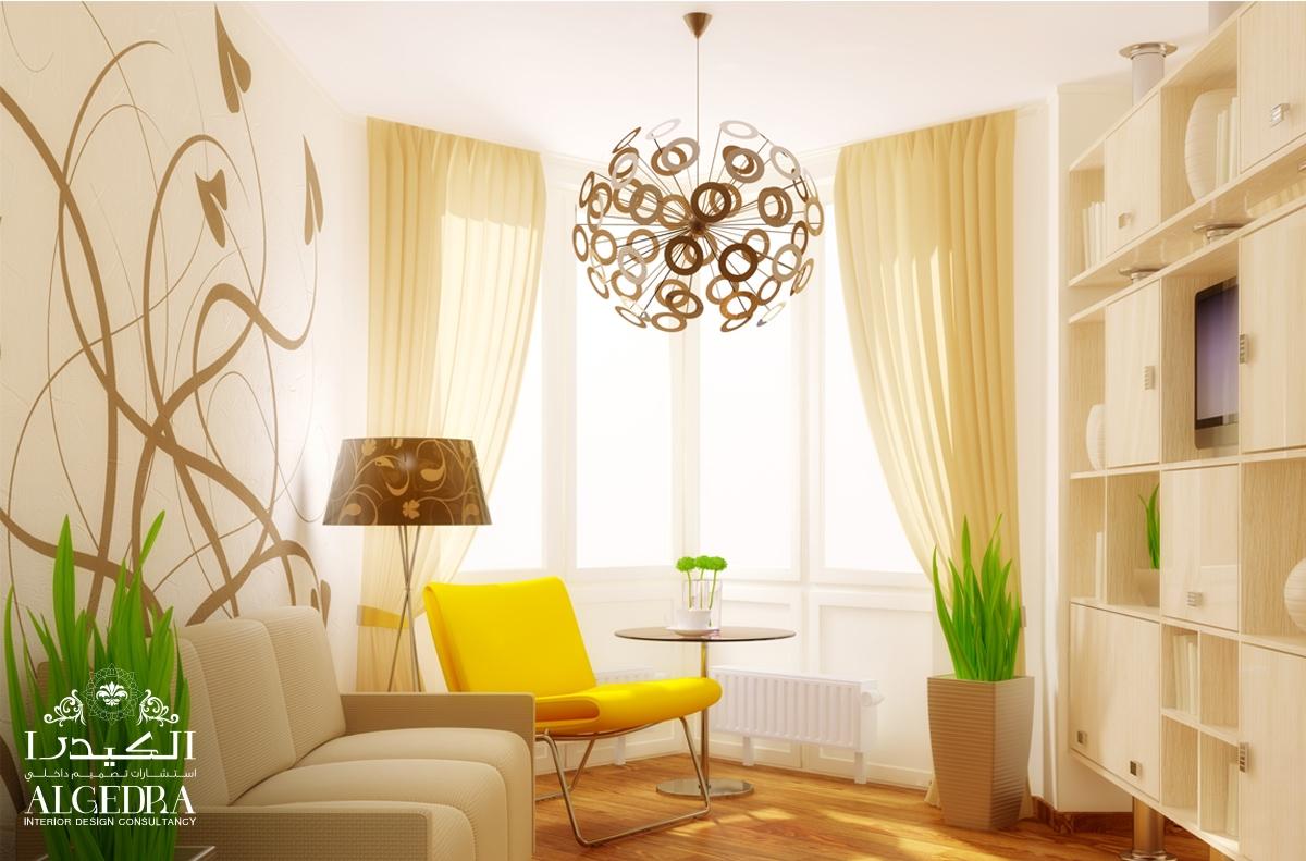 Wallpaper design by Algedra Interior Design