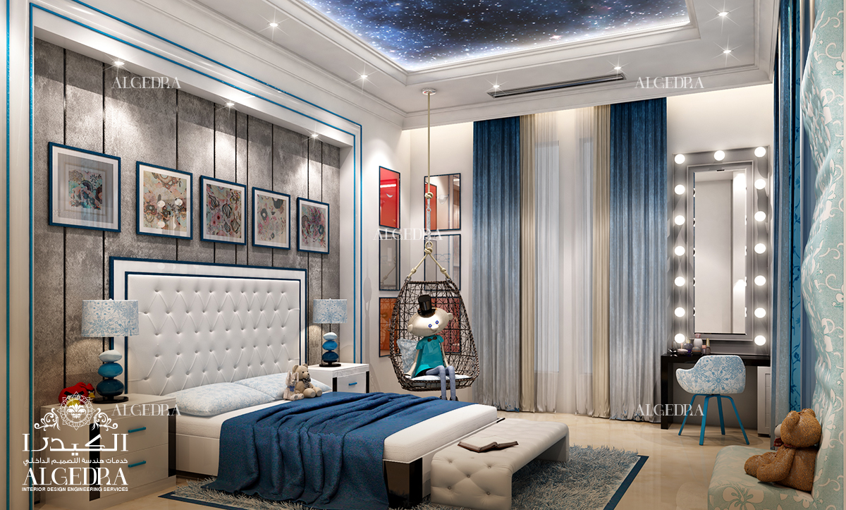 The Color Blue In Its Pale Shade And Cyan Is The Color Of Serenity And Calm  And It Fits Bedrooms And Places For Relaxation Perfectly Because It Reduces  The ...