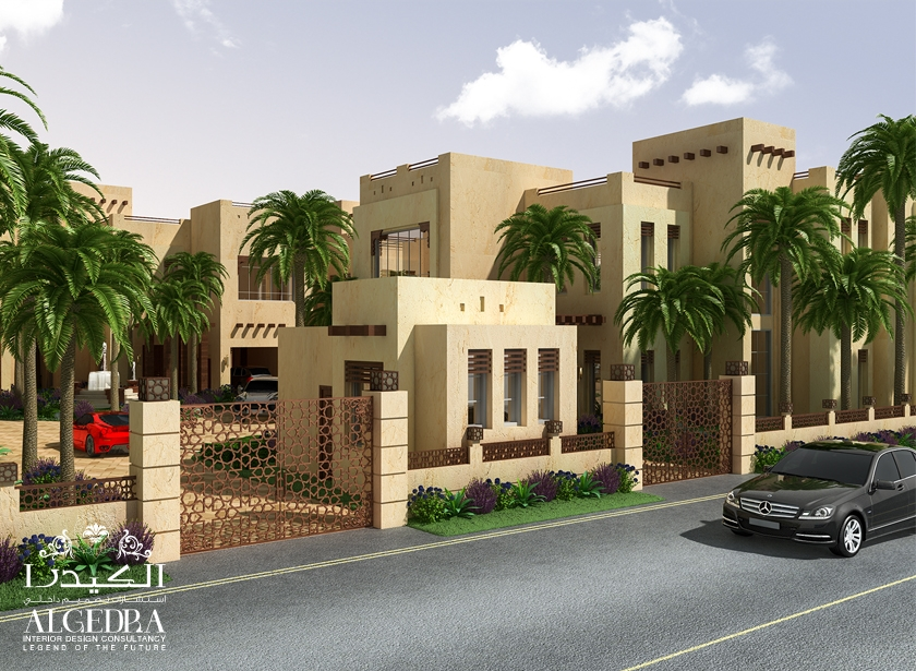 Villa Boundary Wall Design : Boundary wall designs interior design algedra