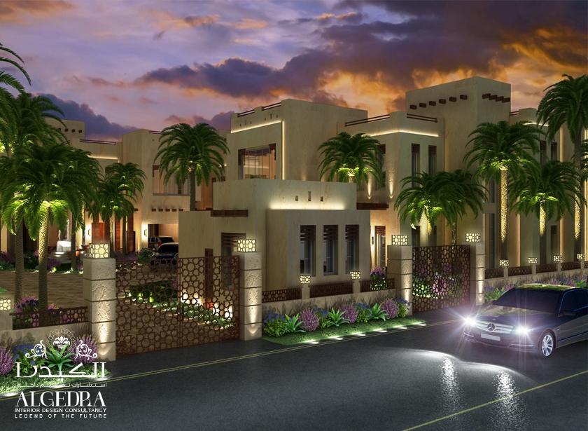 Villa Boundary Wall Design :