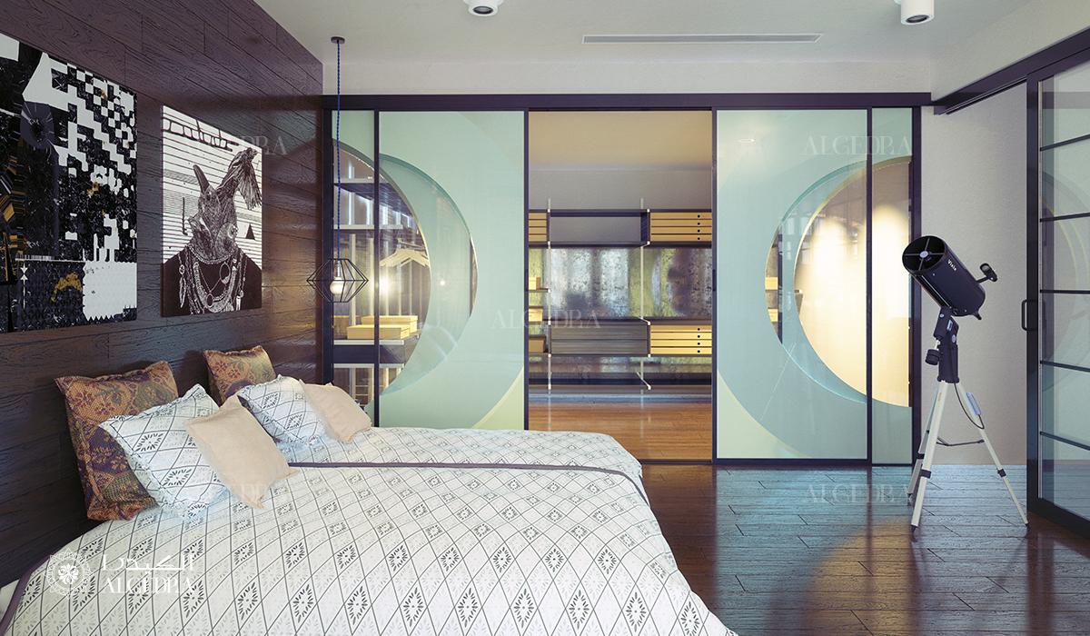 أبواب زجاجية في التصميم الداخلي