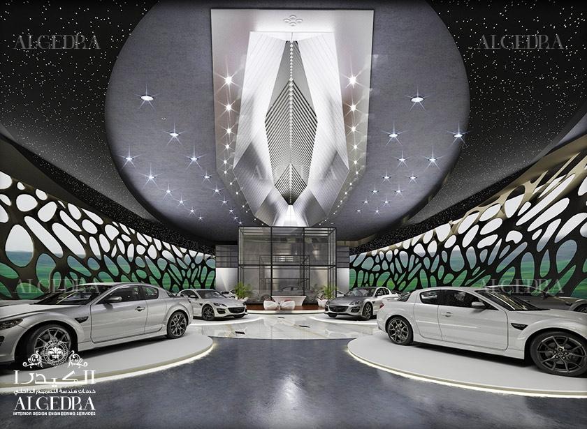 Car Showroom Interior Design In Dubai Algedra