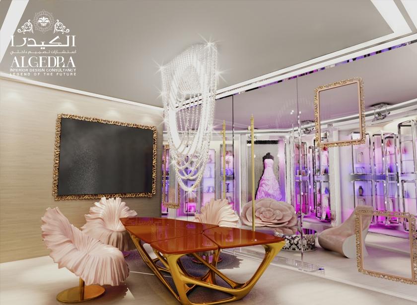 Retail shops interior design services in uae algedra for Retail interior design