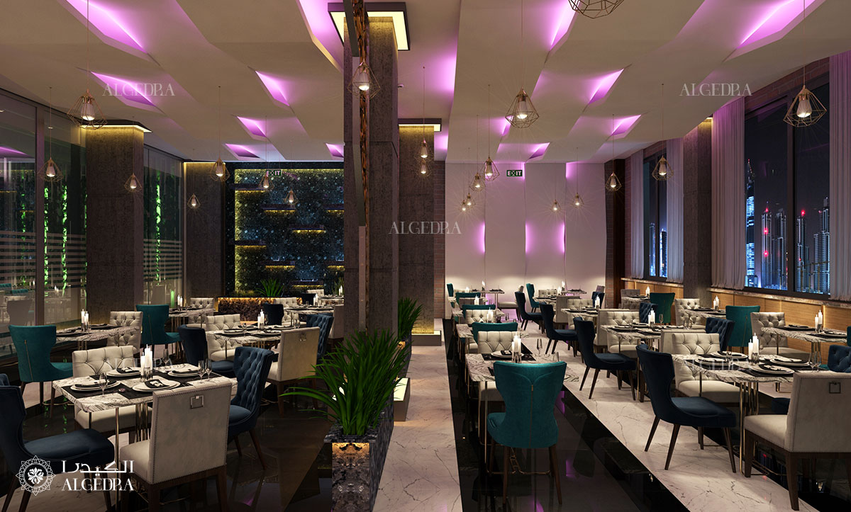 Restaurant Entrance Interior Design