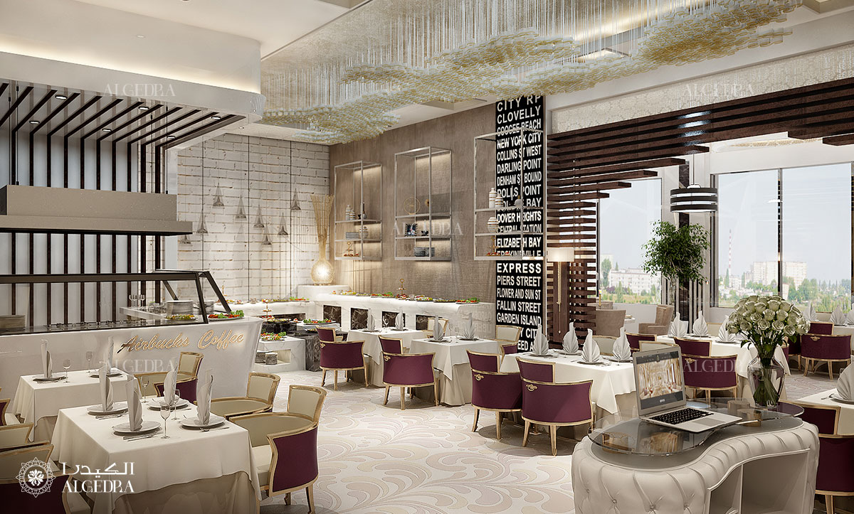Restaurant Reception Interior Design