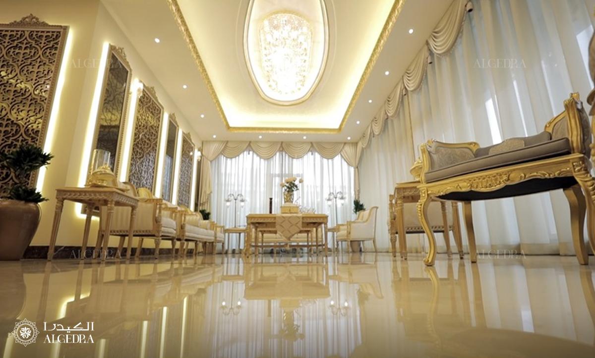 تصاميم وتفاصيل رائعة لديكورات النمط الكلاسيكي في تلال الإمارات