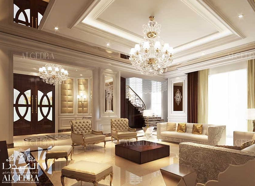 Lobby entrance design for villas houses palaces - Residential interior designers near me ...