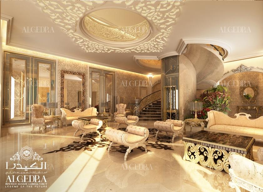 Villa Entrance Interior Design Lobby Design By Algedra