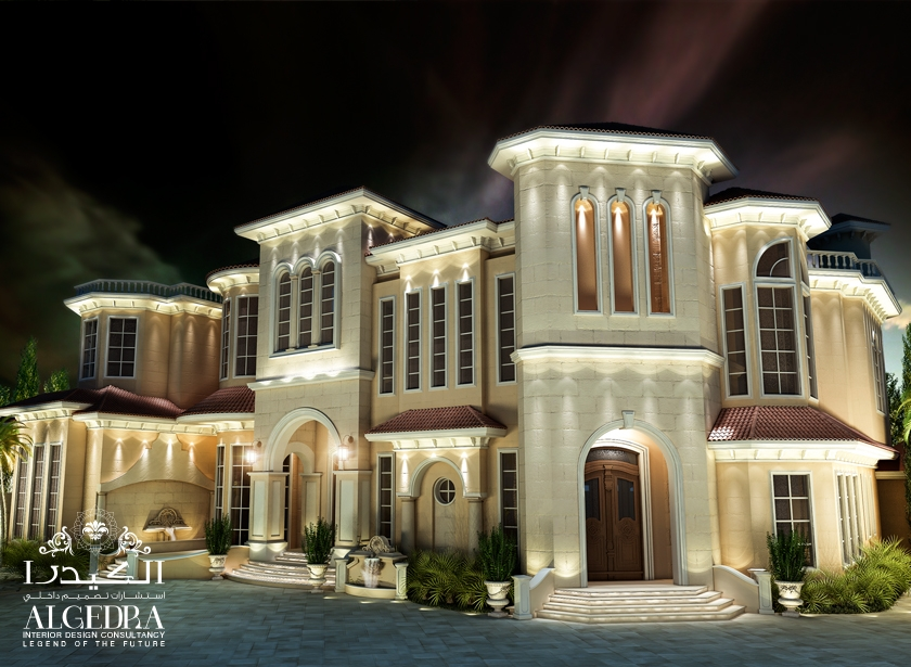 Luxury house exterior designs interior design for Palace design homes